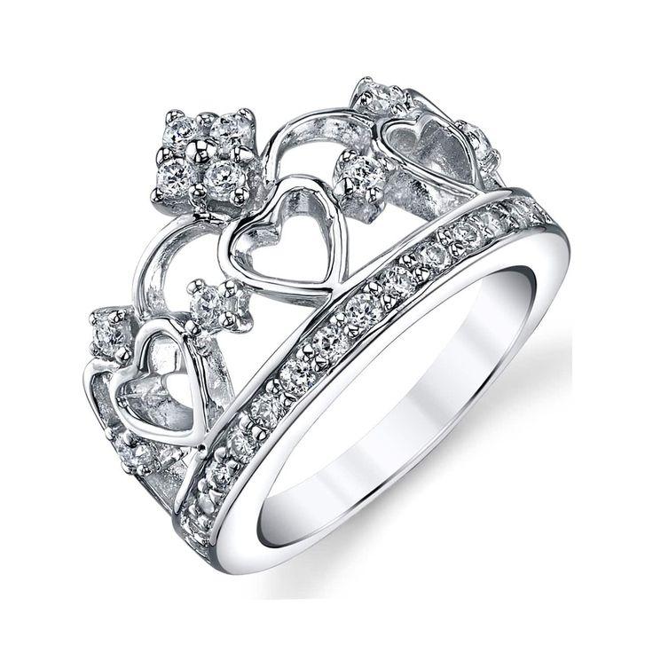 Best 20+ Princess crown rings ideas on Pinterest   Crown ...