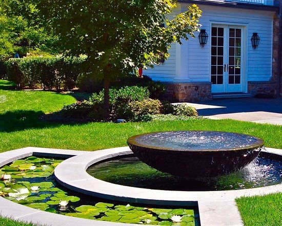 27 best Etang images on Pinterest Gardening, Pond ideas and Garden - terrasse bois avec bassin