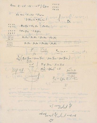 Albert Einstein signed letter auctions for $38,000 online