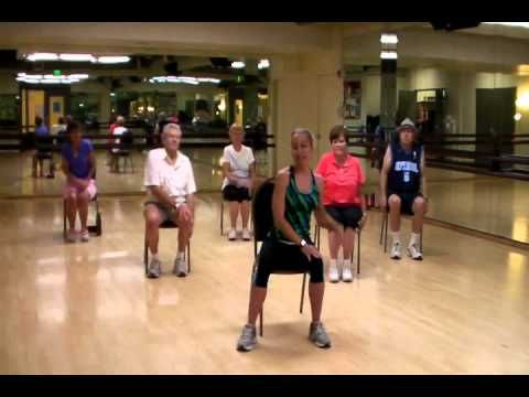 "▶ SilverSneakers Senior Fitness Class Routine to ""Wonderful World"" by Sam Cooke - YouTube"