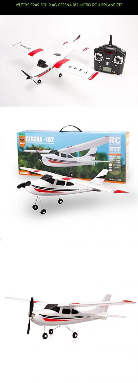 WLtoys F949 3CH 2.4G Cessna 182 Micro RC Airplane RTF #plans #fpv #drone #kit #tech #shopping #camera #gadgets #products #parts #393 #technology #wltoys #racing