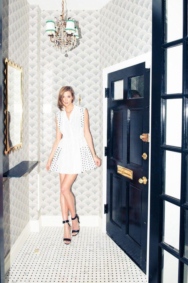 Take a peek inside Karlie Kloss' New York townhouse