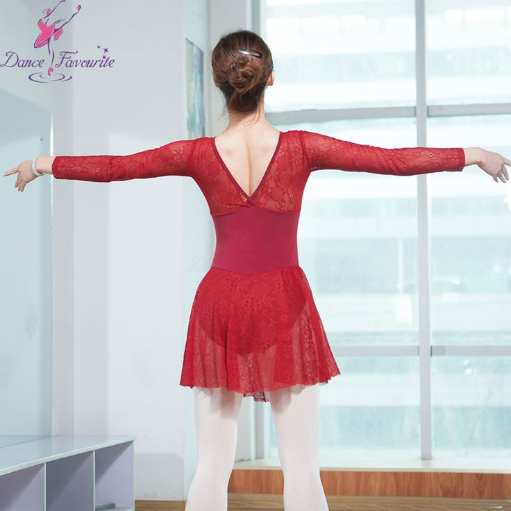 Find More Ballet Information about Hot sale adult long sleeve lace dress for ballet dance leotard dress 2 colors available dance wear 0100652,High Quality Ballet from Love to dance on Aliexpress.com