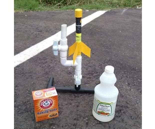 how to make a homemade soda bottle rocket