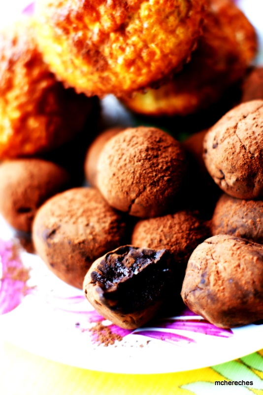 troufes au chocolat Dukan