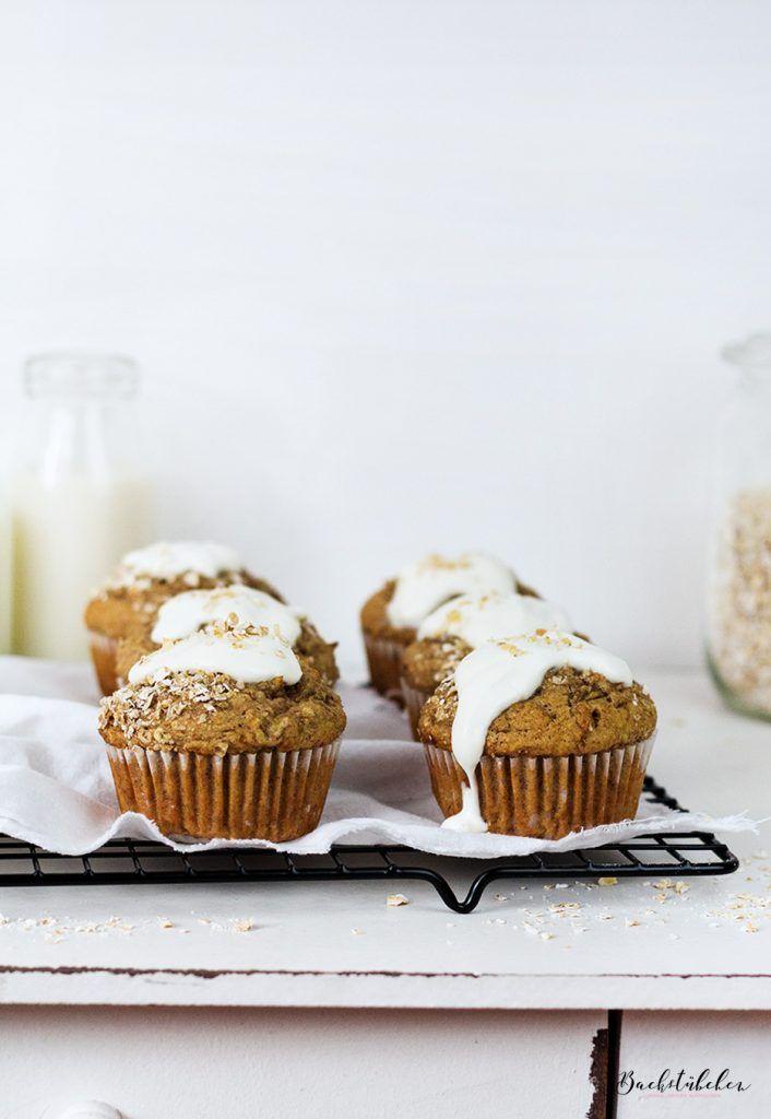 Honigsüße Frühstücks-Muffins mit Bananen und Haferflocken