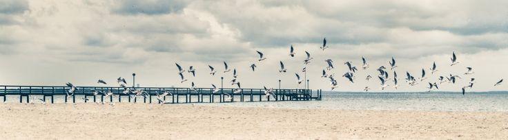 herbstlicher Strandtag von Ruby Lindholm » seen.by Fotokunst