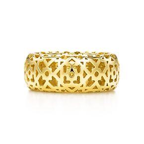 Tiffany & Co. | Item | Paloma's Marrakesh ring in 18k gold. | United States