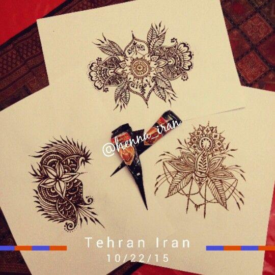 My henna tattoo work