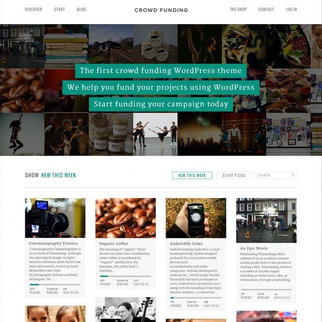 Fundify – Funding WordPress Theme | Best eCommerce WordPress Themes