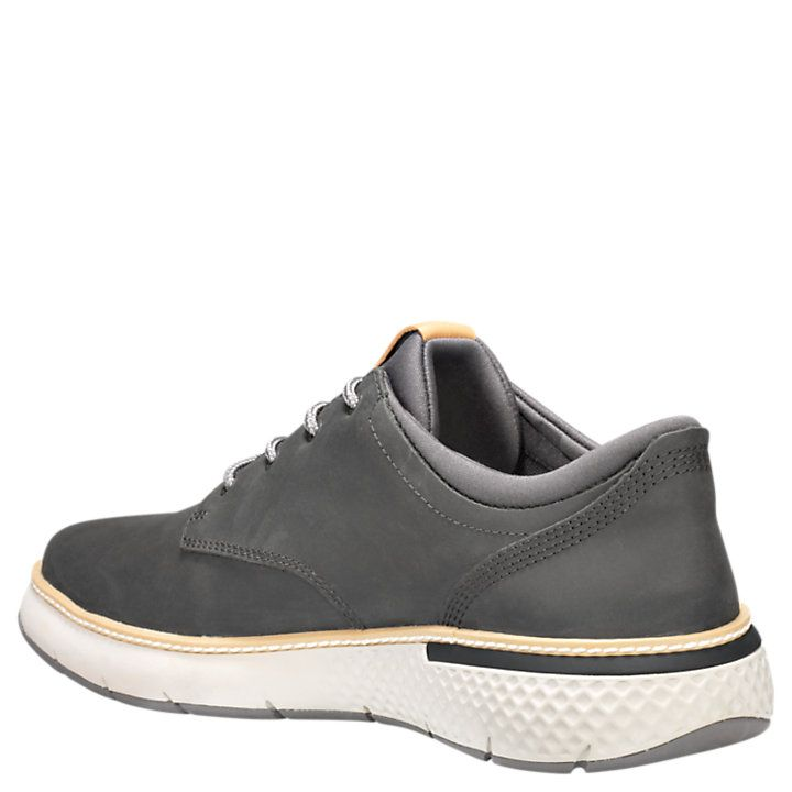 men's cross mark leather sneakers