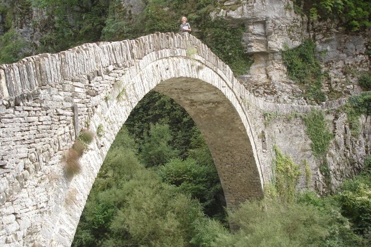 Vikos Aoos National Park - The stone bridge of Noutsos or Kokkoris