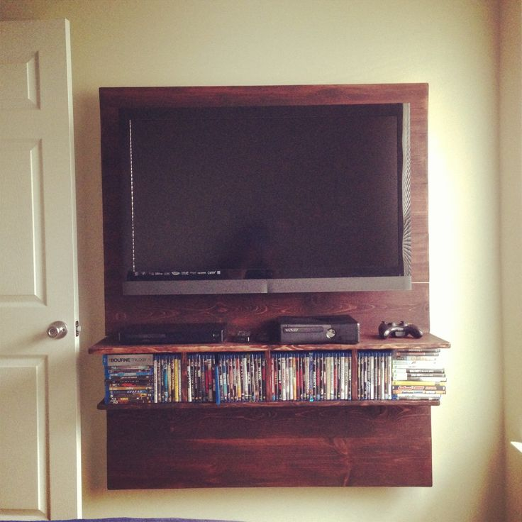 Wall mount for the tv to hide the wires
