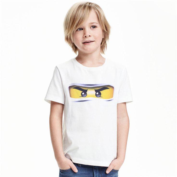 >> Click to Buy << Mrkong 100% Cotton LEGO NINJAGO T-shirt 2017 Summer Children's clothing Baby boys girls T-shirts Cartoon T shirts for Girls Tops #Affiliate