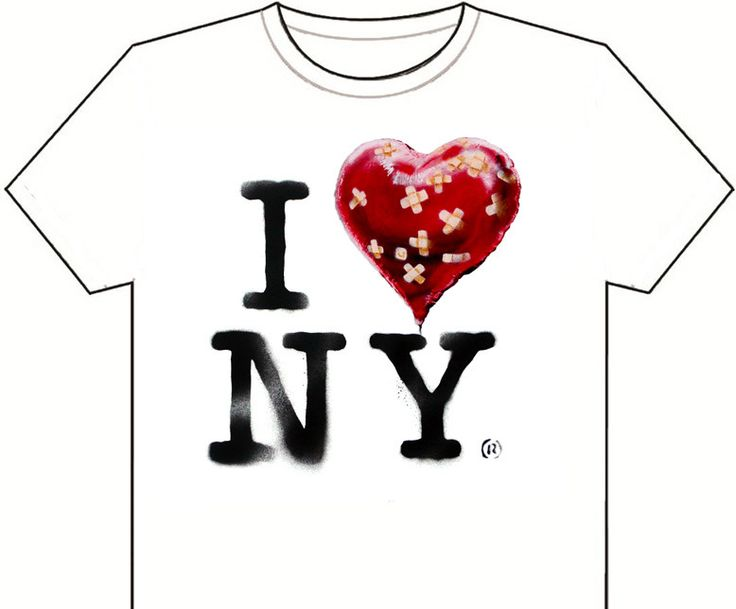Now available - the official Banksy New York residency souvenir T shirt