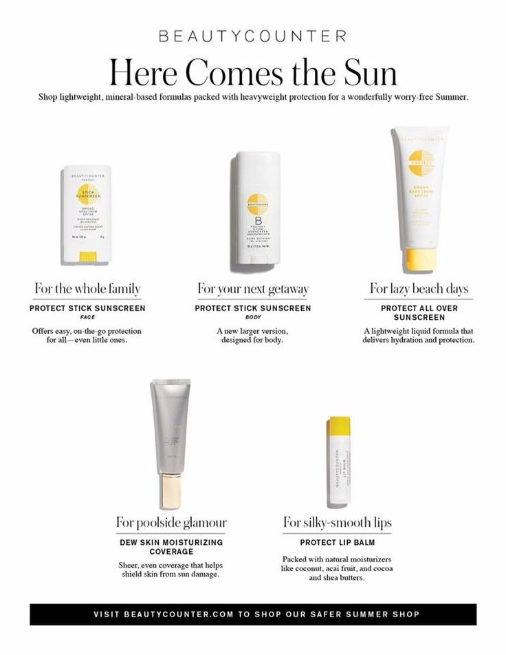 Summer is coming y'all! Get ready with Beautycounter sunscreen!  www.beautycounter.com/jennifersacchieri