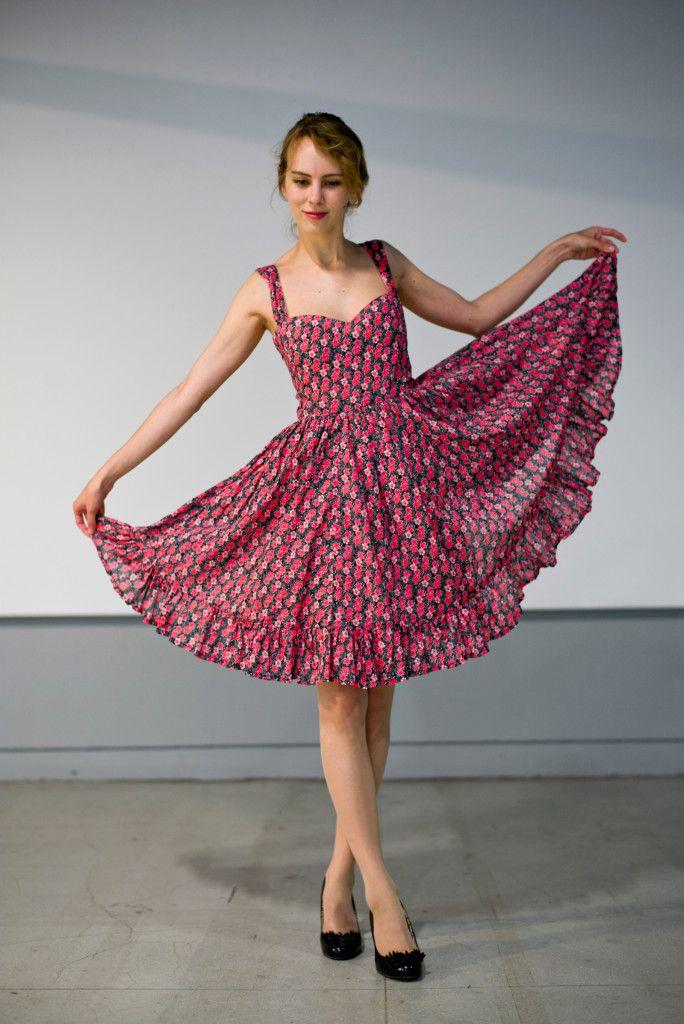Robe cœur froufrous - Carlotta Stermaria