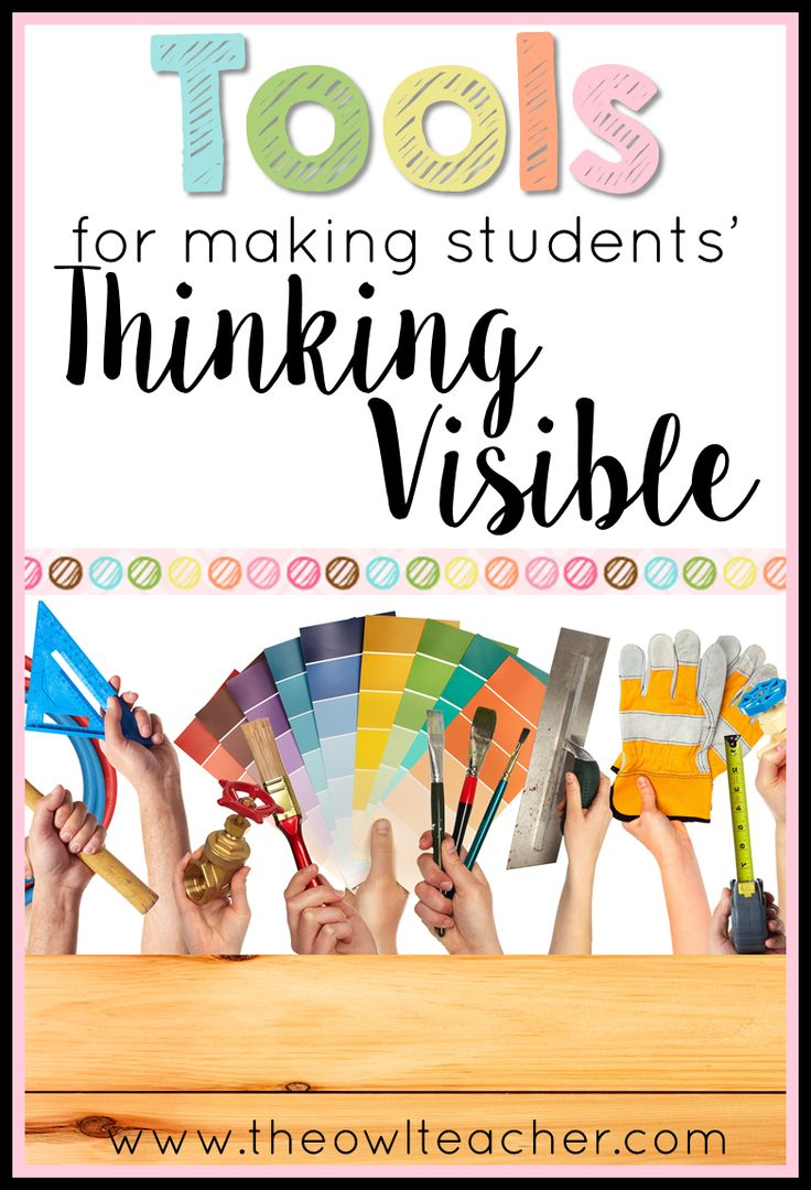 We use tools in our classroom that help get our students really thinking- but are you making their thinking visible? We use anchor charts and other strategies, but are you doing all of these? There's one way to find out!