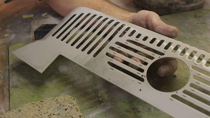 Diskantverdeck aus Aluminium - Bearbeitung