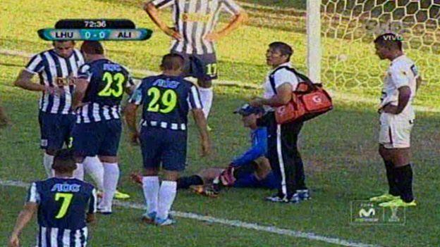 Alianza Lima: George Forsyth se lesionó y no jugaría el clásico (VIDEO) #Depor