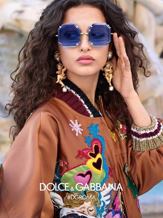 de56226ba86 Dolce   Gabbana Eyewear Fall Winter 2018 2019 Ad Campaign.  dolcegabbana   women