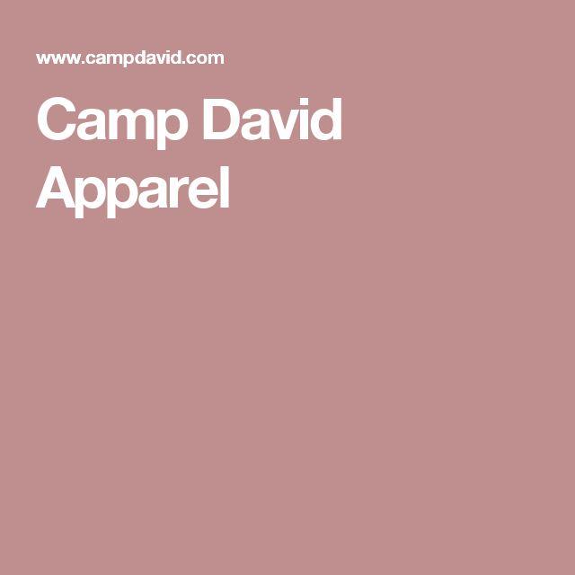 Camp David Apparel