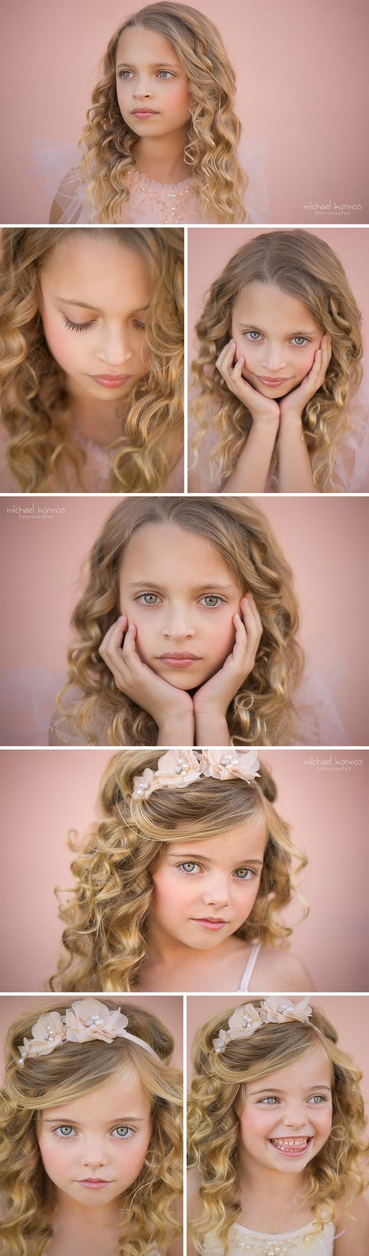 nyc child model headshot photography