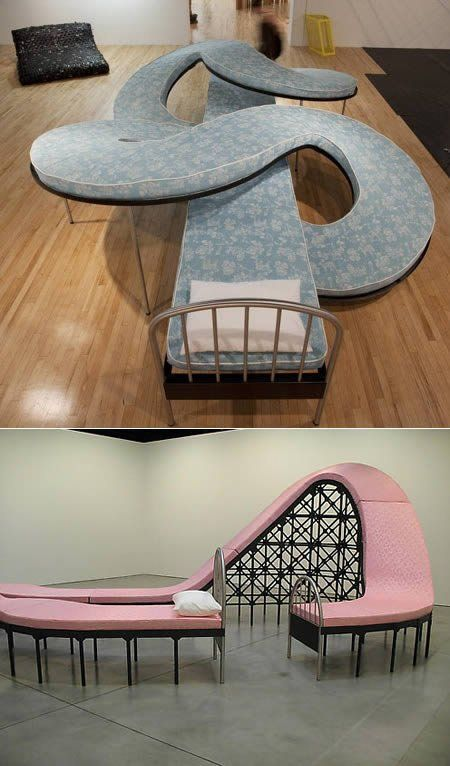 I want this bed!!! though might prove difficult to find appropriate bedding....