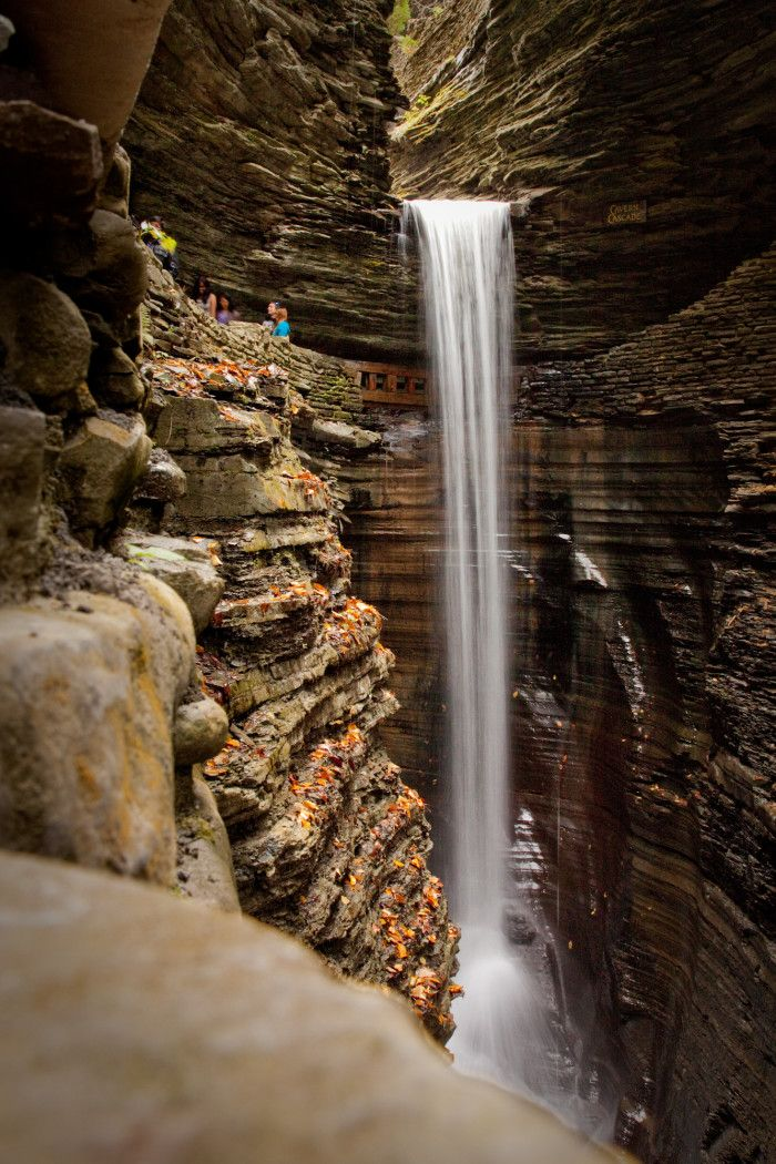 The stunning Cavern Cascade, a must-see for anyone taking a trip to the park!