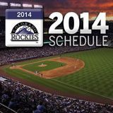 2014 Schedule - Rockpile tickets on sale 2 hours before the game.  $4 adults, $1 kids