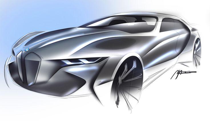BMW concept sketch by Silva