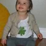 DIY St Patricks Day Shirt: Crafts Ideas, Diy St., Diy Crafts, Stpatricksday Shirts, Shirts Crafts, St. Patrick'S Day, Fabrics Paintings, Diy Stpatricksday, St Patrick'S Day