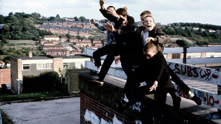 Foto's van jonge skinheads in Engeland in de jaren tachtig - VICE