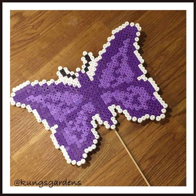 Butterfly hama beads by kungsgardens