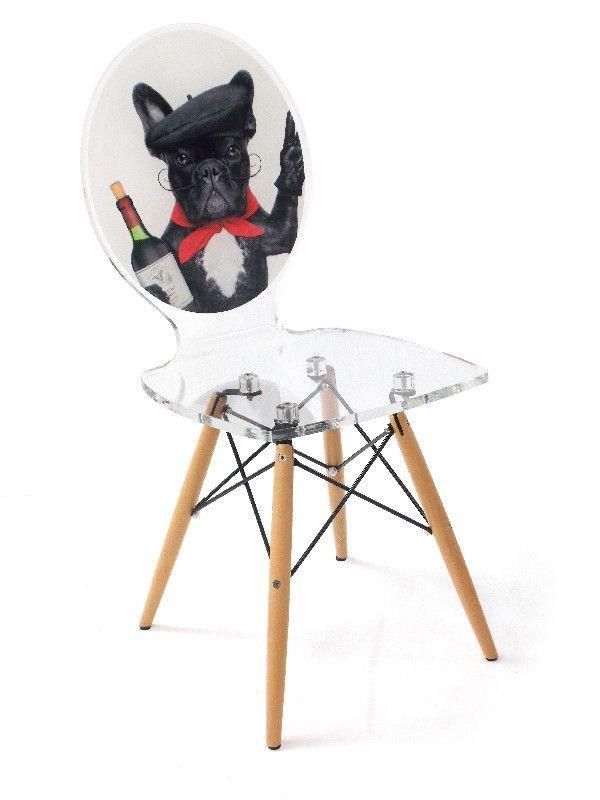 chaise acrylique graph pieds bois dog vine meilleures id es verres acryliques graph et acryliques. Black Bedroom Furniture Sets. Home Design Ideas