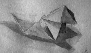 lycée Jeanne d'Arc - Rouen - Lavis & origami / MàNAA