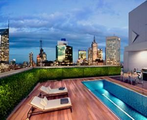 NZD $550 for 3 nights.  Offering a rooftop heated pool, a fitness centre and a library, Wyndham on William is located in the heart of Melbourne.