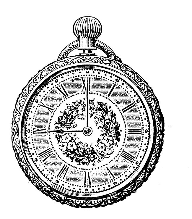Clock Vintage Printable Www Ilarialercari It