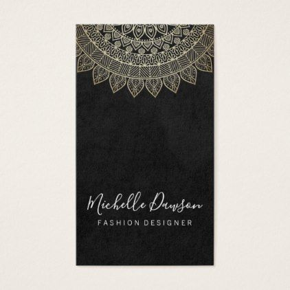 Stylish Pattern Vintage Business Card - stylist business card business cards cyo stylists customize personalize