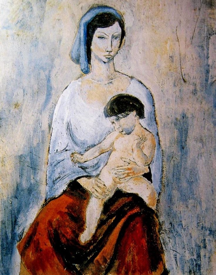Mother and Child George Russell Drysdale (1912-81) Australia