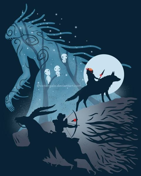 Princess Mononoke  A Miyazaki film in which the Forest Spirit is a type of Christ, only the Japanese cannot believe He gave His life and took it back again, they have humans give the Head back.