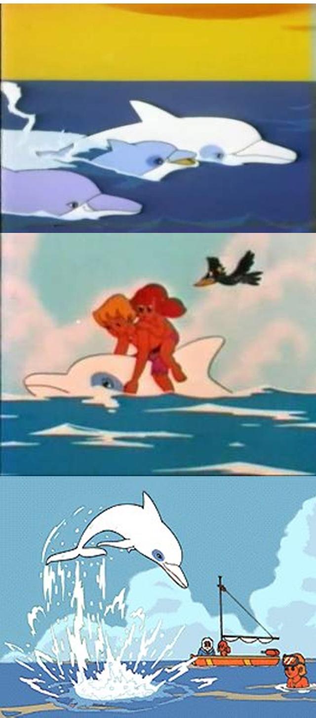 Bajka Biały Delfin UM. Kto pamięta?