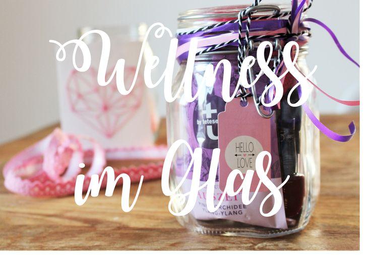 Bild: DIY Geschenk, Wellness im Glas, Entspannung im Glas, Geschenkidee, gefunden auf Partystories