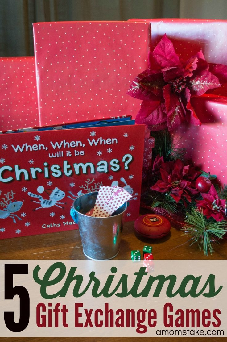 Best 25 christmas gift games ideas on pinterest christmas the 5 best christmas gift exchange games negle Images