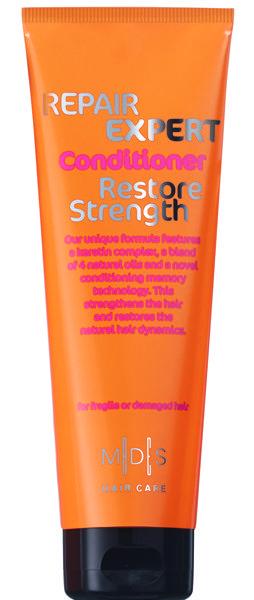 Восстанавливающий кондиционер с кератином для поврежденных и ломких волос. Кератиновый комплекс питает и восстанавливает структуру волос, предохраняя от ломкости. Масло моринга, авокадо, миндаля, рыжиковое масло в комплексе с экстрактами красного дерева  и алоэ вера придают гладкость, блеск и мягкость волосам, облегчая расчесывание. Подходит для ежедневного применения. Для поврежденных и окрашенных волос. #ПарфюмерияИнтернетМагазин #ПарфюмерияИКосметика #ПарфюмерияЮа #КупитьДухи #Купит...