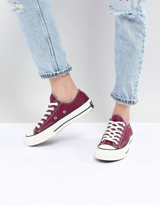 a2eb5b2b82d Converse Chuck '70 ox sneakers in burgundy in 2019 | shoes ...