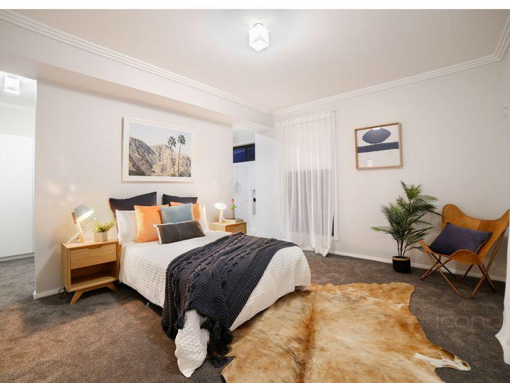 Stunning #modern bedroom! #Robersonconstruction #stylebyblondes #interiordesign #iconobuildingdesign #homedecor