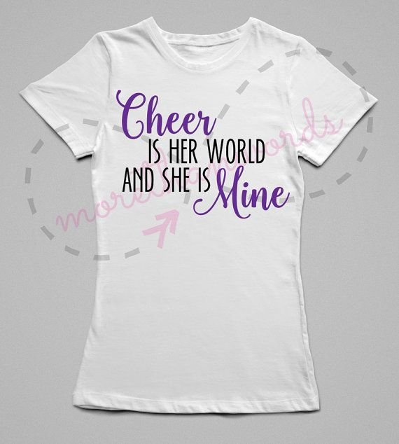 Cheer Mom Shirt Cheerleading Shirt Cheerleader by MoreThanWordsNY on Facebook & Instagram www.facebook.com/morethanwordsny or on Instagram @morethanwordsny
