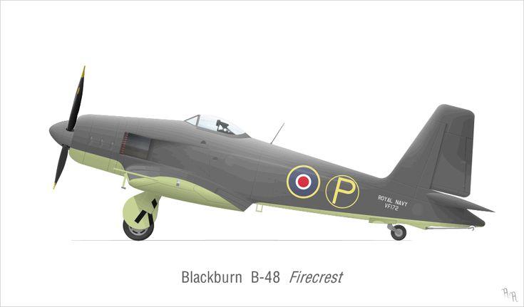 "dieselfutures: ""Blackburn B-48 Firecrest """
