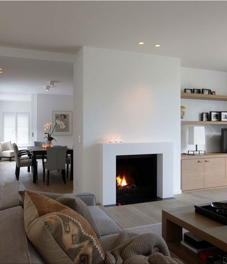 Modern fireplace Vlassak Verhulst